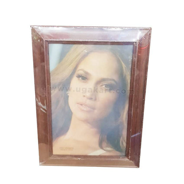 "Photo Frame Brown-8""/12""-( 20/30Cm )"