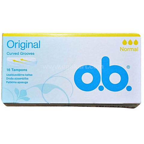 Original Curved Grooves 16 Tampons