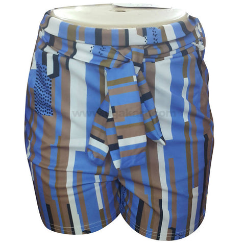 Women's Multi Color Short