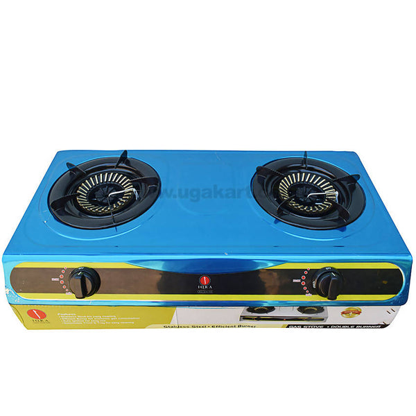 IQRA Stainless Steel Efficient Gas Stove_2 Burners_IQ-GS2BSS