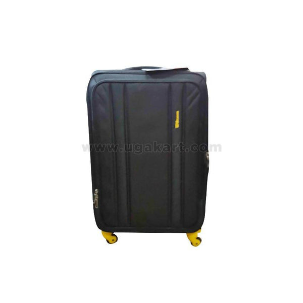 Trendy Yellow & Black Suit Case (Trolly Bag) (Medium Size)