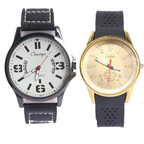Couple Watches-Men and Women - Black