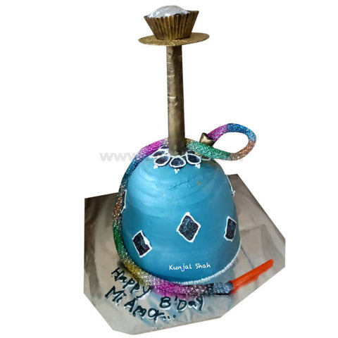 Shisha Theme Cake (Without Egg) 2Kg
