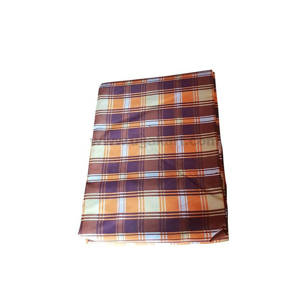 3*6 TWO BedSheetS_Brown Check