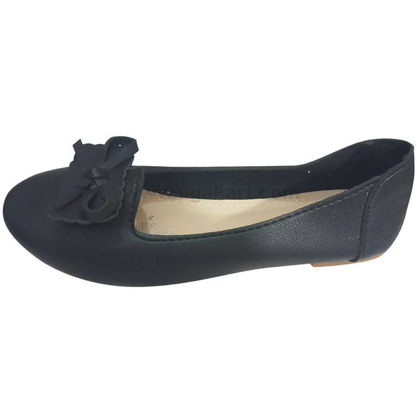 Black Chic, Comfortable Flats(Size-28 to 36)