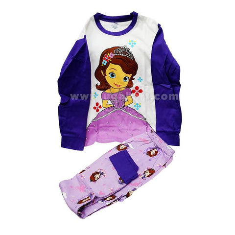 2 Piece Sofiya Print Kids Dress