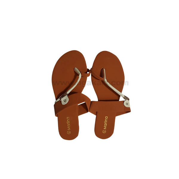 Womens BROWN MARTINA Sandal