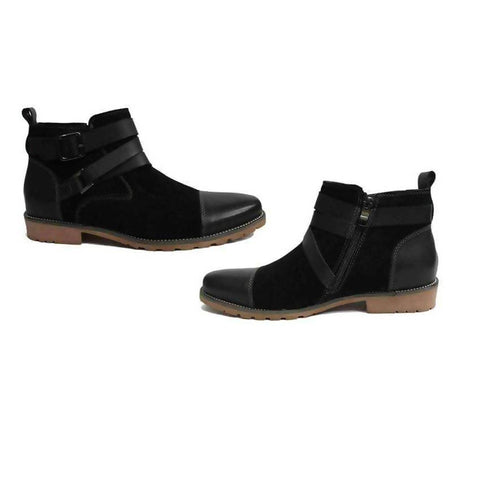 Timberland Black Mens Shoes With Zip