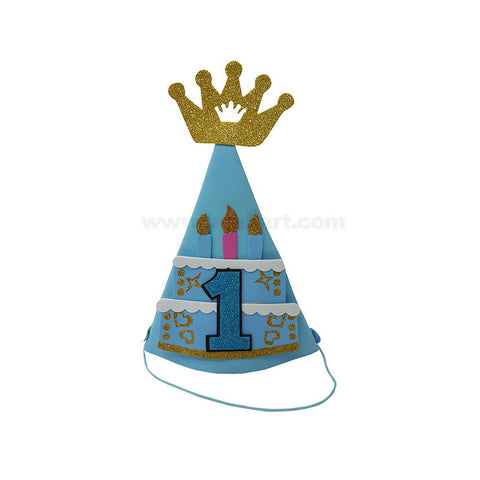Crown Cap For Birthday (1 to 9 Numbers)