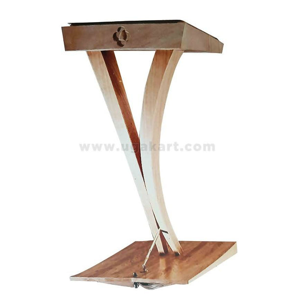 Wooden Podium Pulpit-Stand
