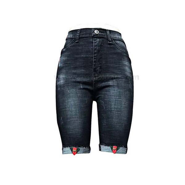 Gucci Short Jeans - Black