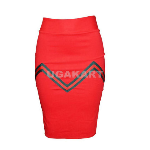 Red Tight Skirt/Tube