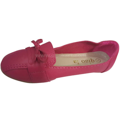 Hot Pink Slip-on-Shoes for Girls(Size-31 to 36)