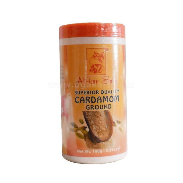 African Spices Cardamom Ground 100gm