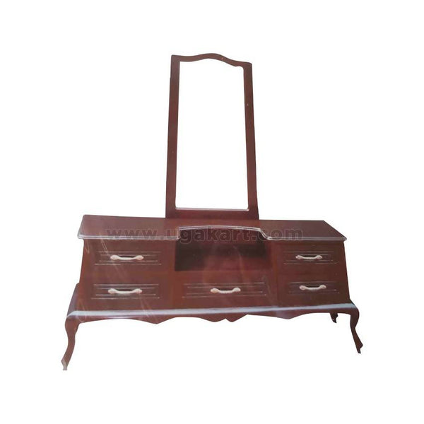 Vintage Classic Design Wooden Dressing Table With Drawers