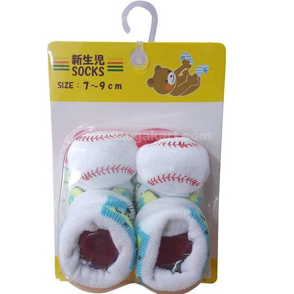 White Color Socks For Kids 0 to 6 months