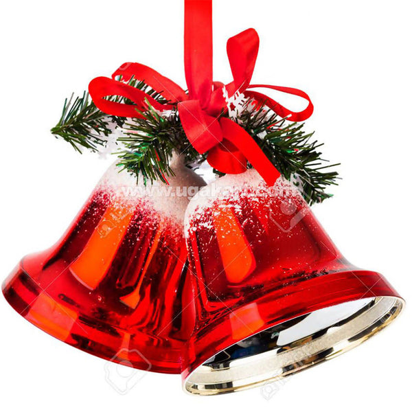 Red Christmas Decoration Bells