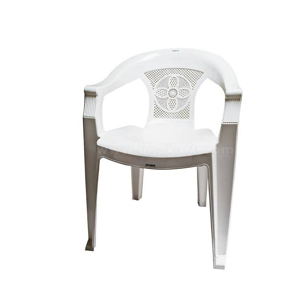 High Quality Plastic Chair - White