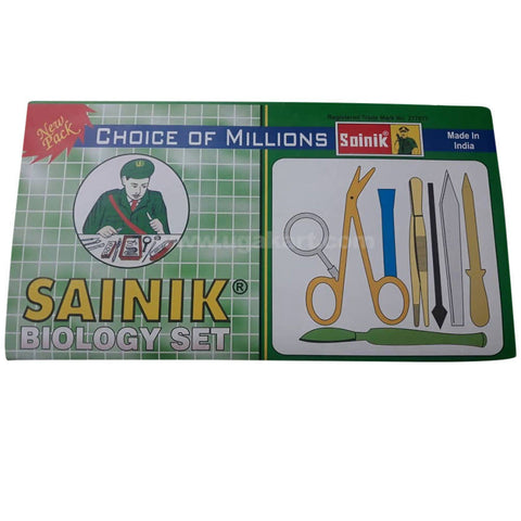Sainik Biology Set