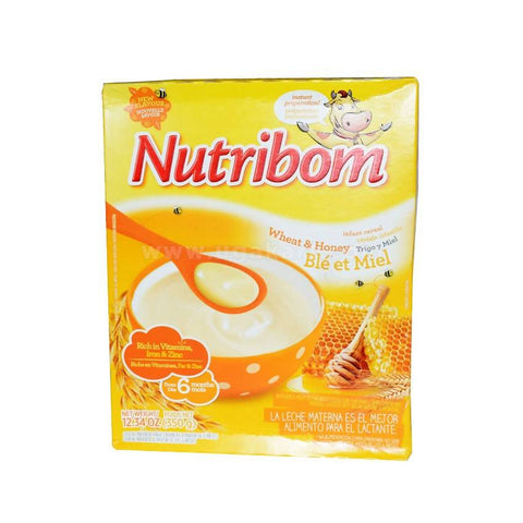 Nutribom Wheat & Honey  350gms