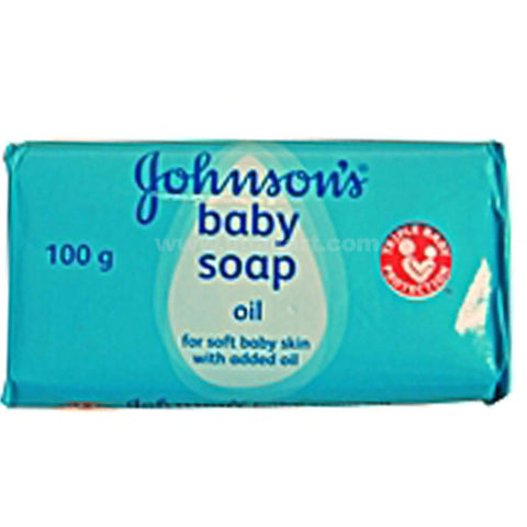 Johnsons Baby Oil Soap -100g