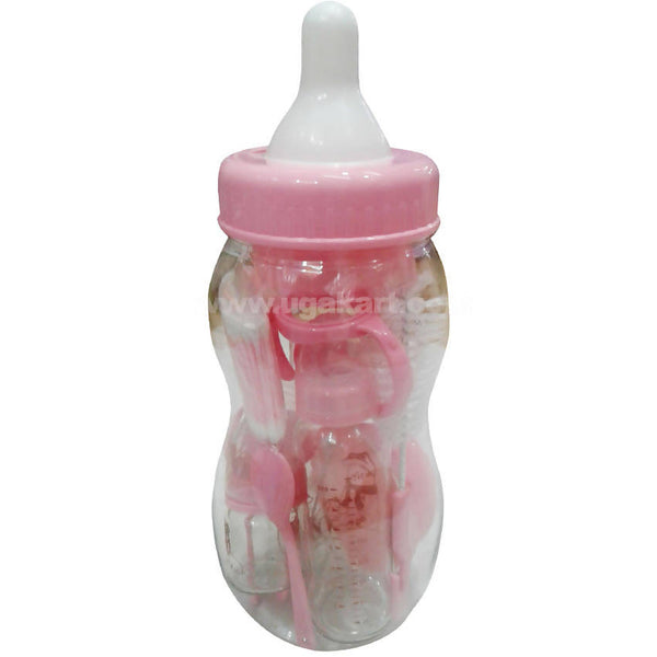 Pink Baby Feeding Bottle
