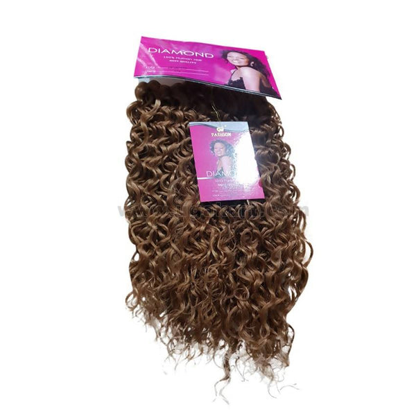 Jerry Curly Hair Weave_3Pc_Light Brown