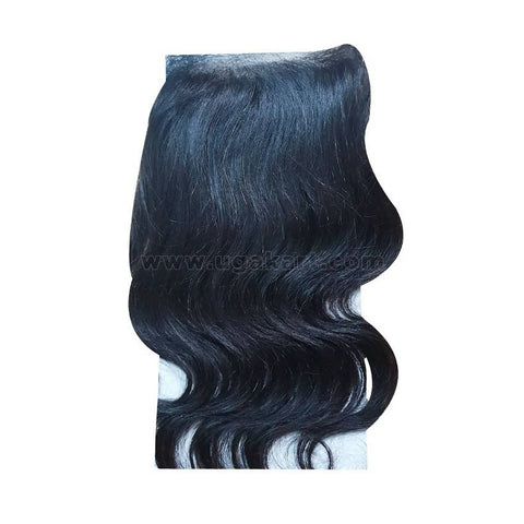 Human Hair Black Weave-Front : 4/4