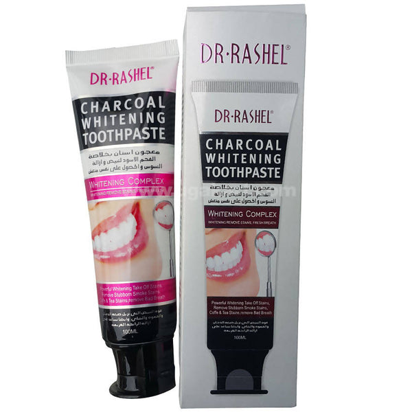 Dr. Rashel Charcoal Whitening ToothPaste 100ml