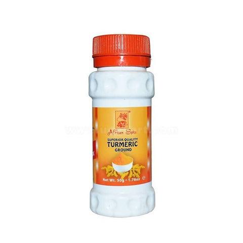 African Spices Turmeric Ground 50gm