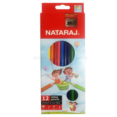 Nataraj Coloured Pencils (12Pcs)