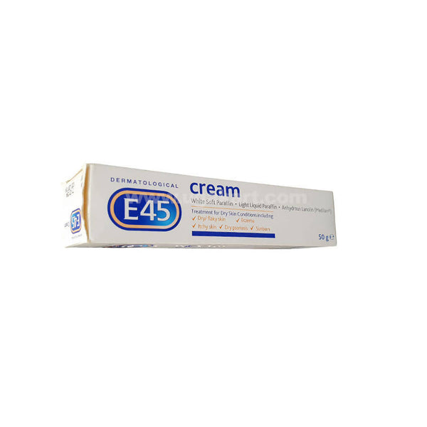 E45 Dermatologica-Cream For Dry Skin-50gm