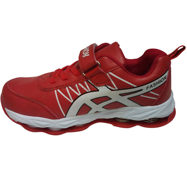 Fashion Red Sport Shoes With Spring Breathable For Kids