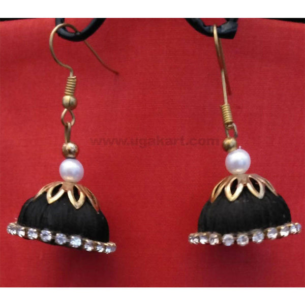 Black Thread And Golden Earrings