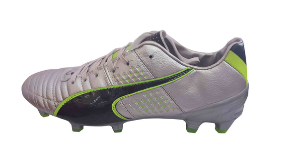 Low Top Mens Football Boots - Grey