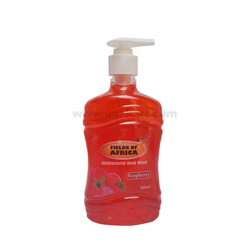 Fields of Africa Antibacterial Hand Wash Raspberry_500ml