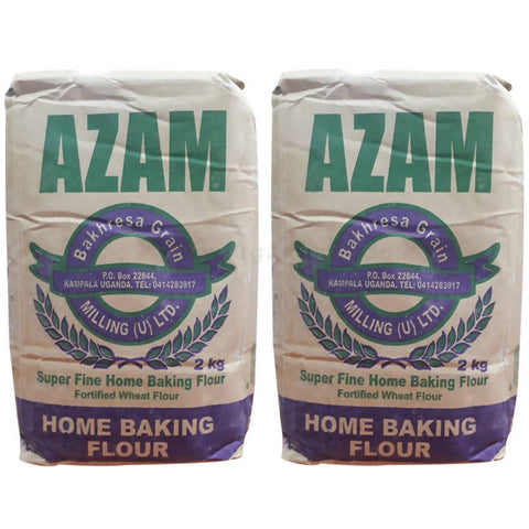 Azam Wheat Flour 2Kg Pack Of 2
