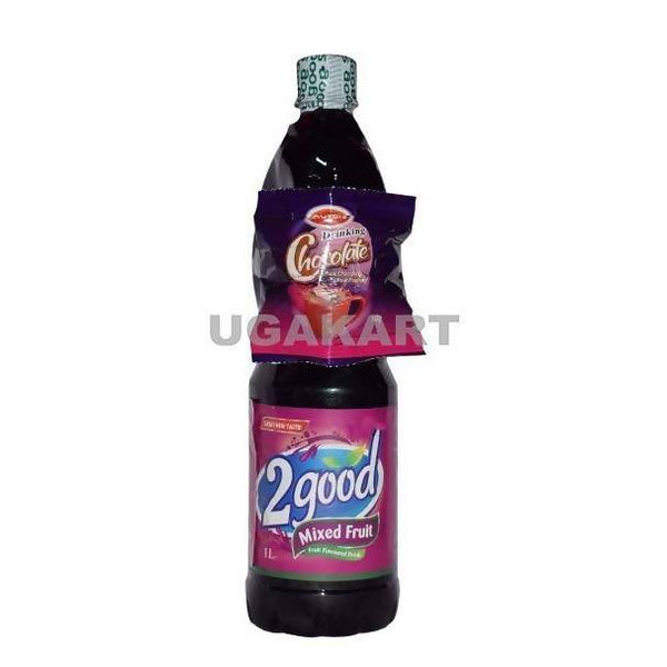 2 Good Mixed Fruit Juice With Chocolate Sachet 1 LTR