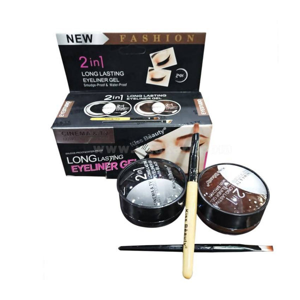 2 in 1 Long Lasting Eyeliner Gel