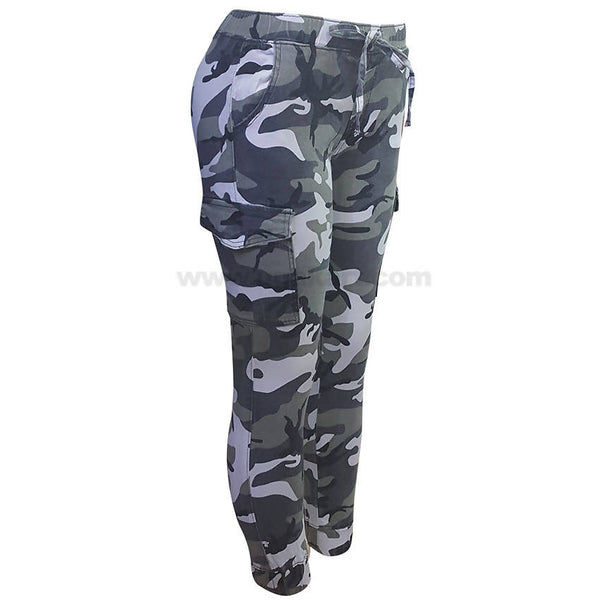 Camouflage Cargo Pants For Women