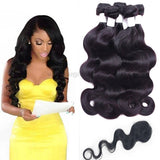 Original Human Hair 2pc-24''