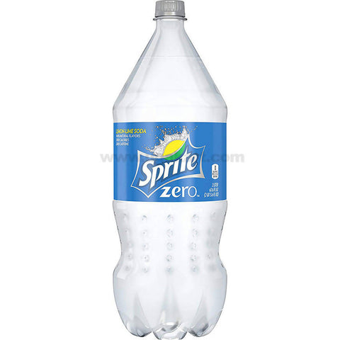 Sprite Zero Soda without sugar 2 liter