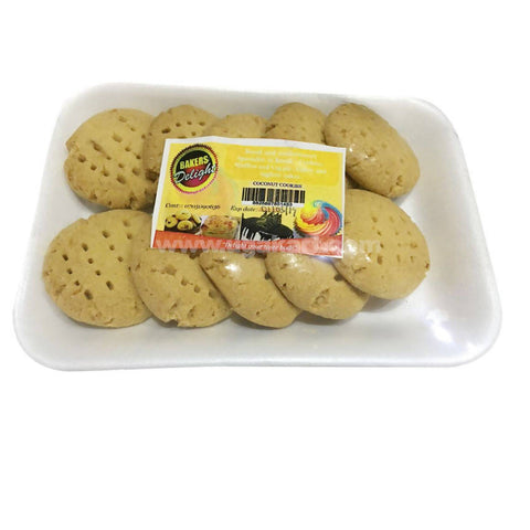 Coconut Cookies_(Without Egg)_200Grams