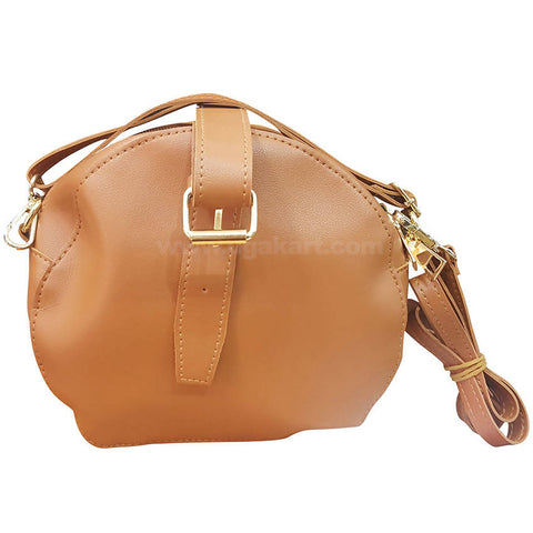 Light Brown Ladies Cross Bag