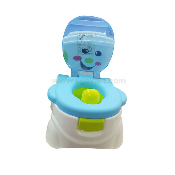 Baby Toilet Trainer Potty Seat For Kids Blue