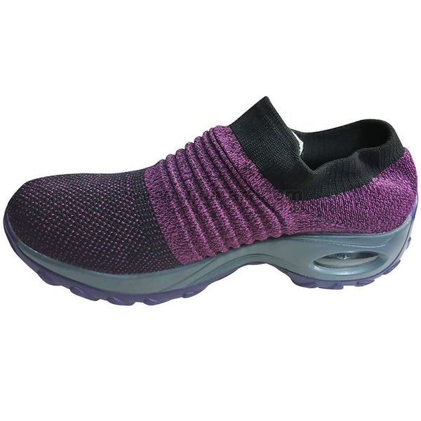 Spike Sock Sneaker-Purple & Black(Size-40 to 45)