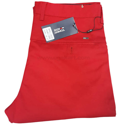 Red Color For Trouser For Men