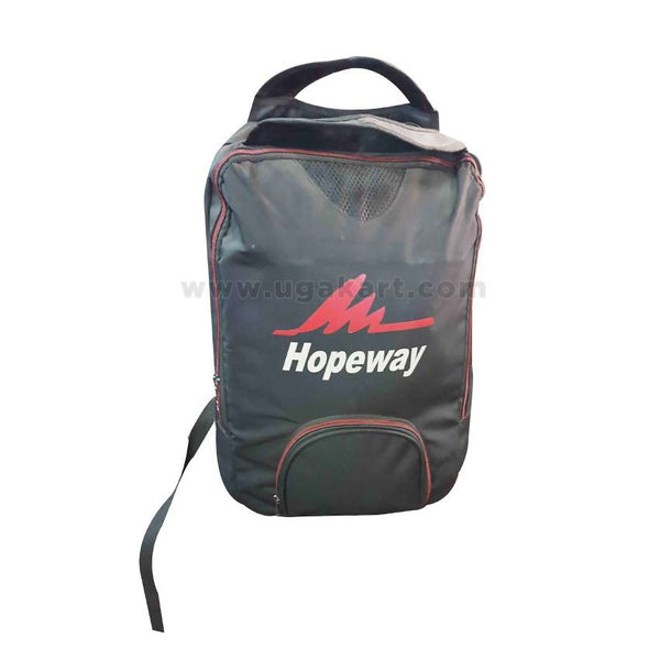 Black & Red Hopeway Travel Bag (Backpack)