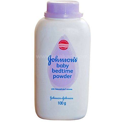 Johnsons Baby Bedtime Powder -100g