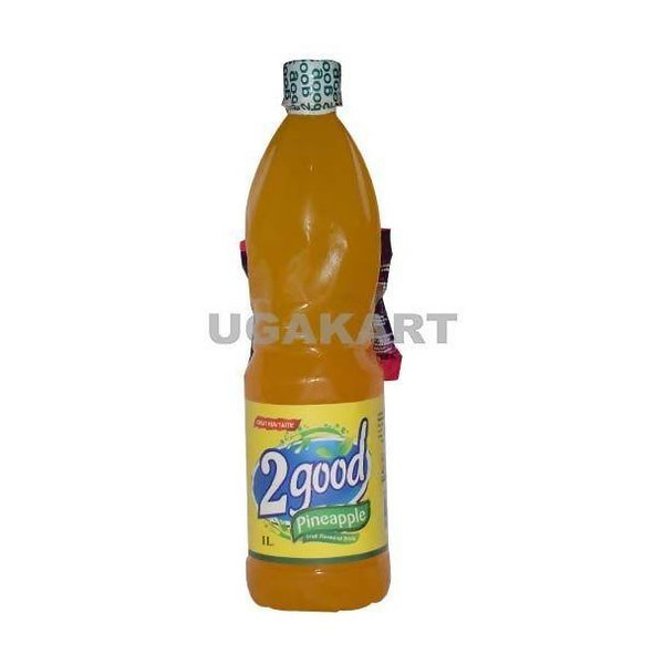 2 Good Pineapple Juice With Chocolate Sachet 1 LTR